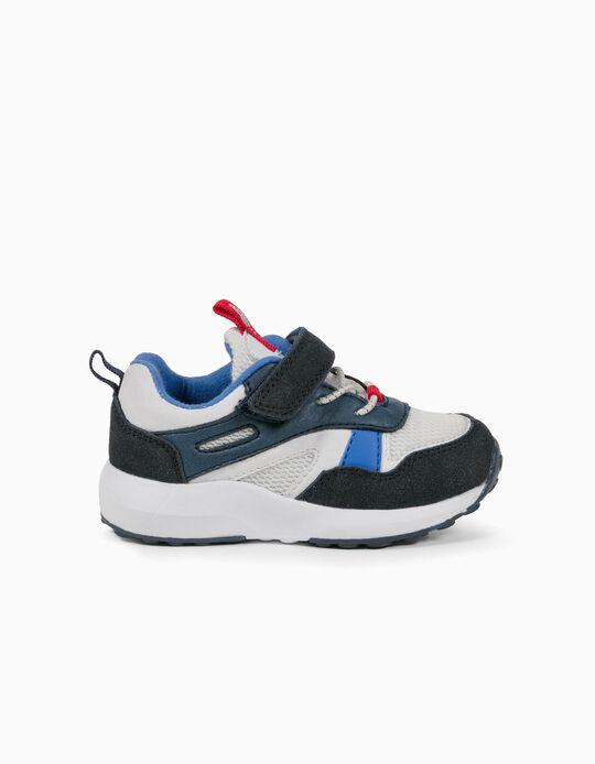 Baskets bébé garçon 'ZY Superlight Runner', blanc/bleu/rouge