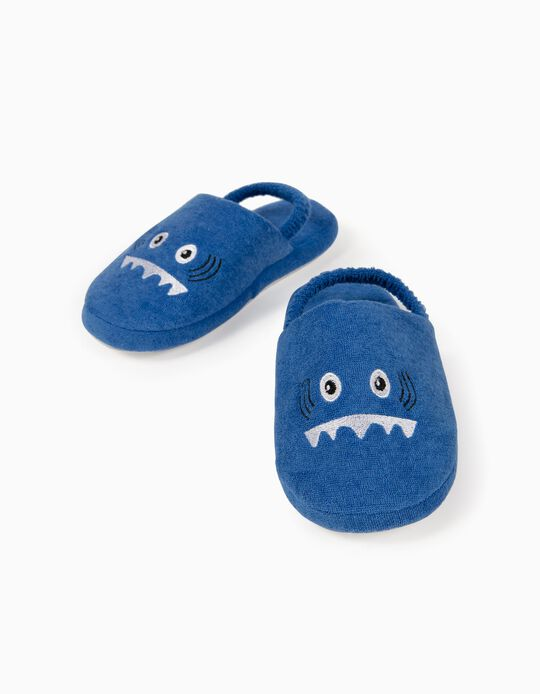 Slippers for Boys, 'Shark', Blue