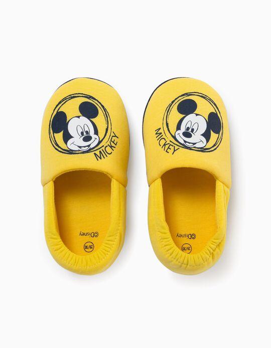 Pantufas para Menino 'Mickey', Amarelo