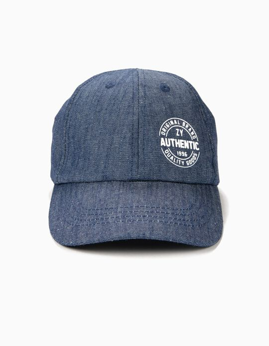 Cap for Boys ZY 1996, Blue