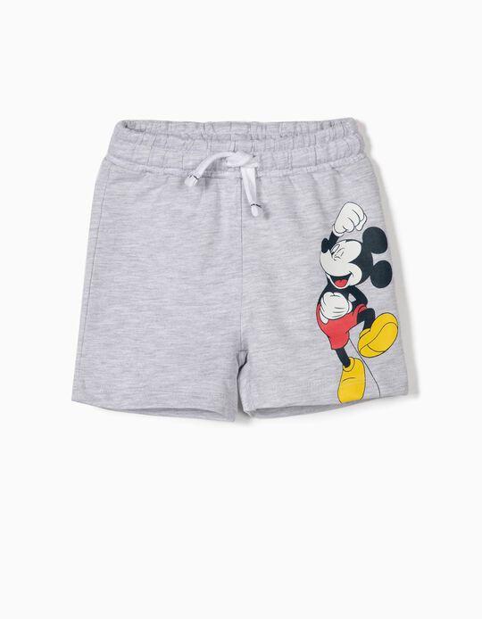 Short para Bebé Niño 'Mickey', Gris