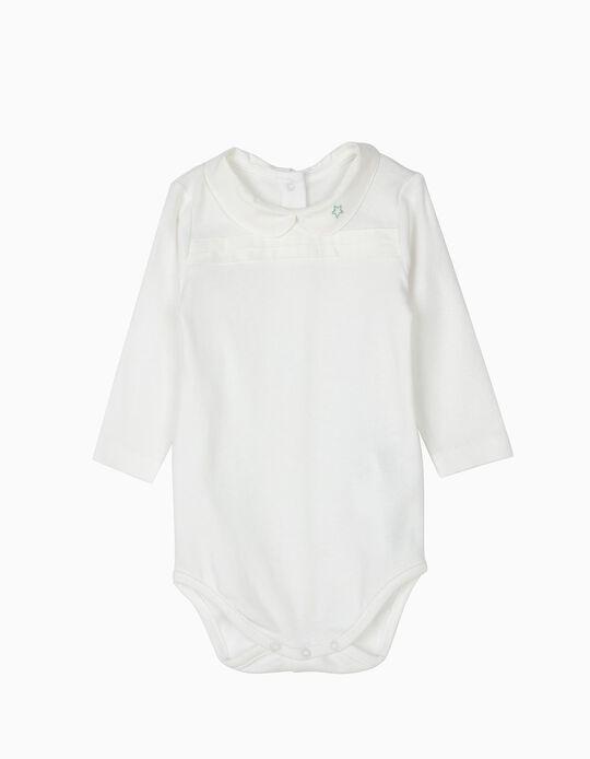 Body Estrellita Blanco Algodón Orgánico