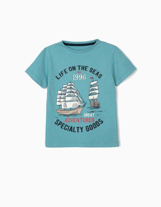 Camiseta para Niño 'Sea', Azul