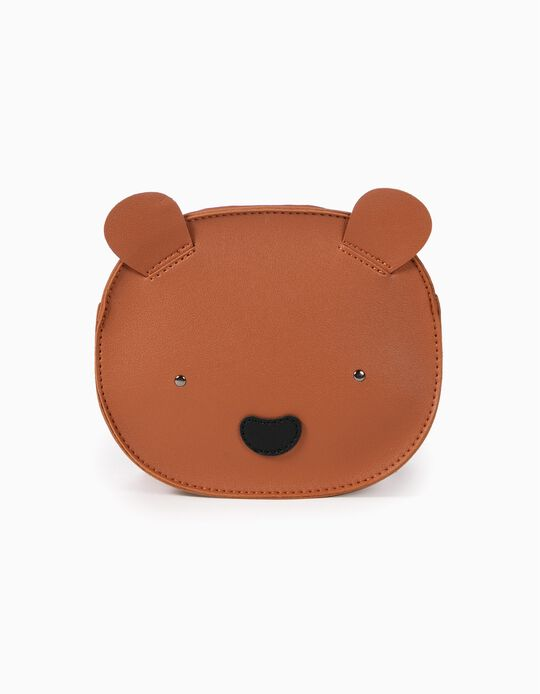 Mochila para Niña 'Bear', Marrón