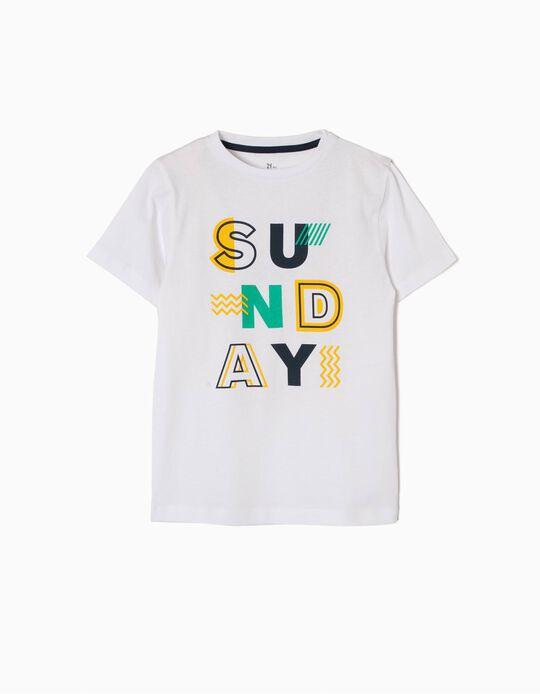 Camiseta de Manga Corta Sunday
