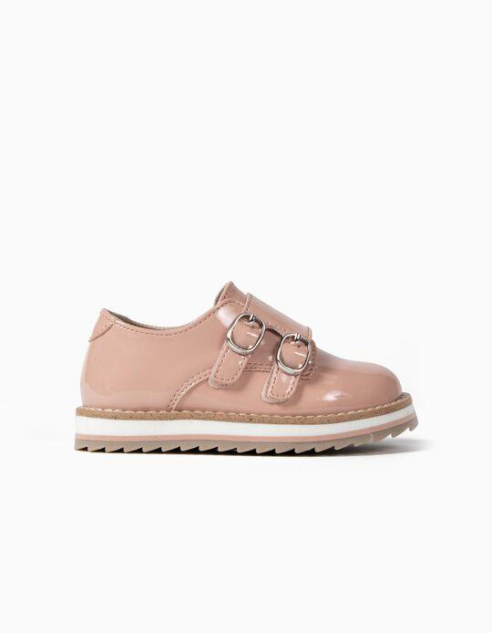 Zapatos de Charol para Bebé Niña, Rosa