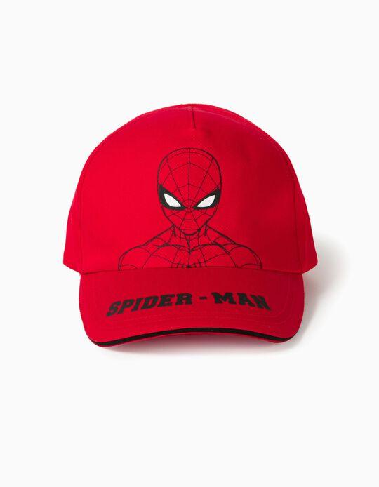 Boné para Menino 'Spider-Man', Vermelho