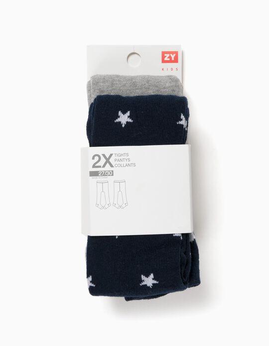 Pack 2 Leotardos Estrellas