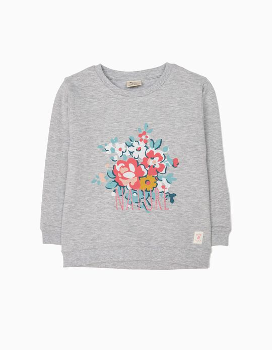 Sweatshirt Nature Cinzenta