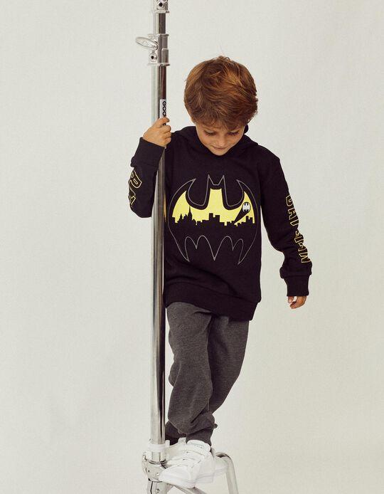 Sweatshirt com Capuz-Máscara para Menino 'Batman', Preto