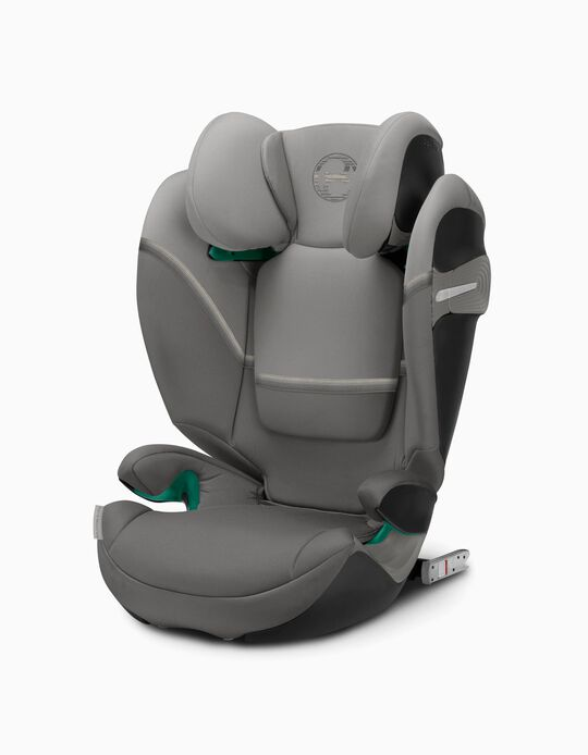 Cadeira Auto I-Size Solution S I-Fix Cybex Soho Grey-Mid