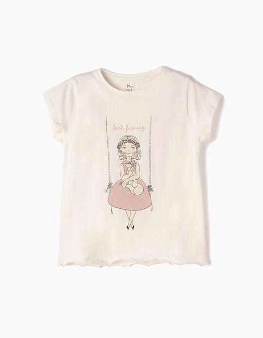 T-shirt Cinzenta Best Friends