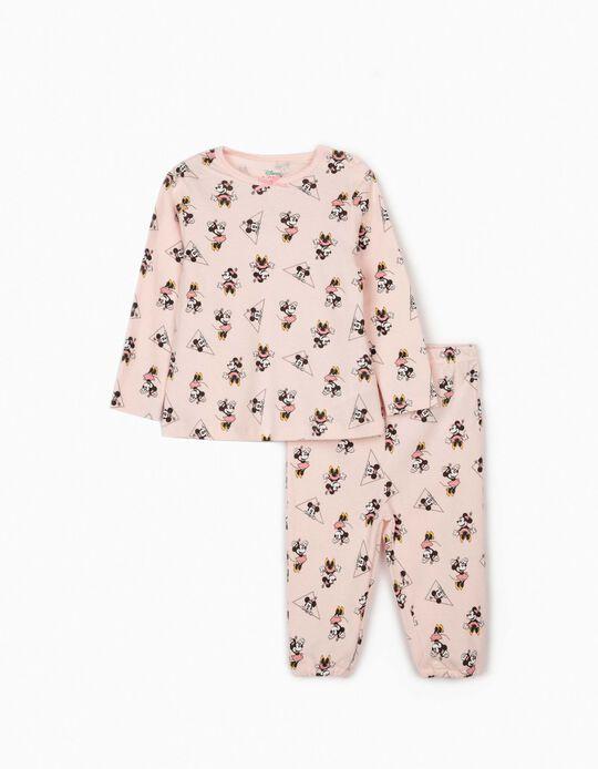 Pijama para Bebé Niña 'Minnie', Rosa