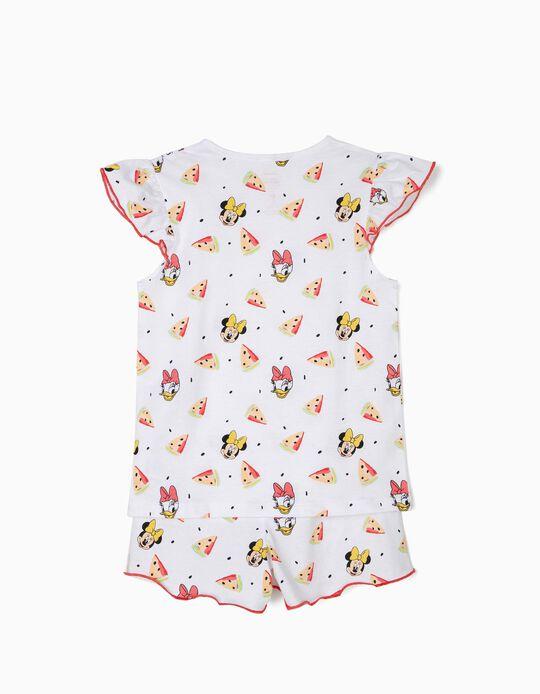Pijama para Menina 'Minnie & Daisy', Branco