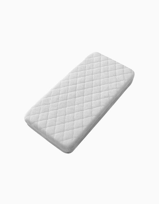 Protector De Colchón Para Cuna 85x55cm Interbaby Blanco