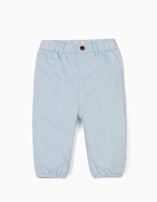 Pantalón para Recién Nacido, Azul Claro