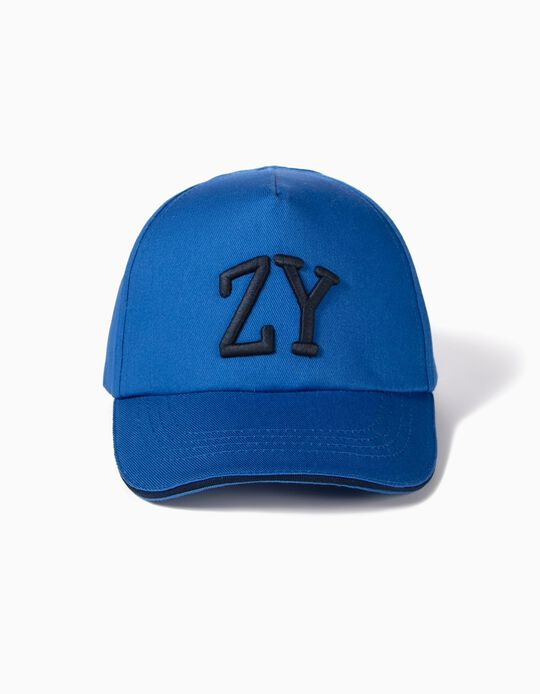 Cap for Boys 'ZY', Blue