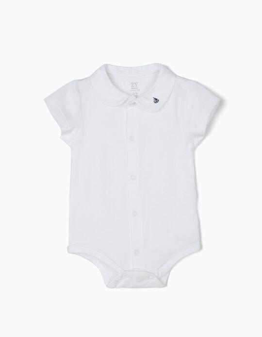Body para Recém-Nascido 'Little Sailor', Branco