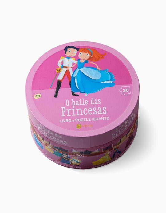 Puzzle Baile das Princesas Edicare 30pcs