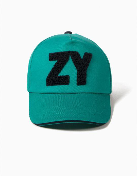 Gorra ZY Verde