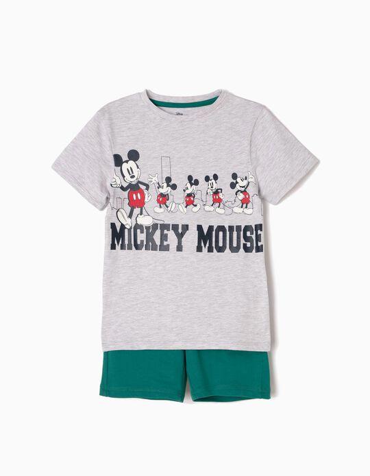 Conjunto de Camiseta y Short Mickey NY
