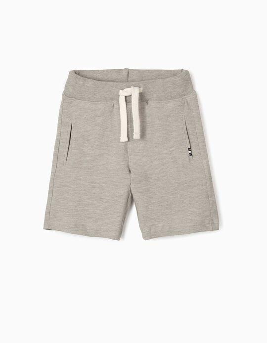 Sports Shorts for Boys, Grey