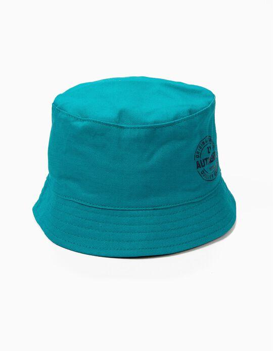 Sombrero para Niño 'ZY 1996', Verde Azulado