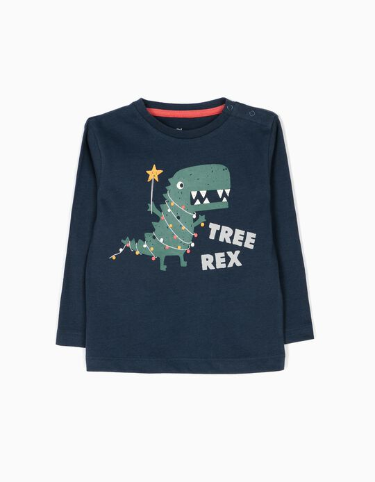 Camiseta de Manga Larga Tree Rex