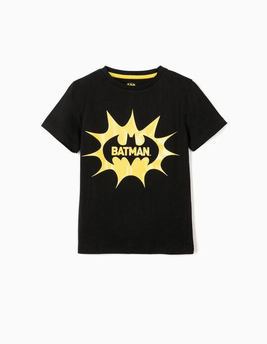 Camiseta para Niño 'Batman', Negra