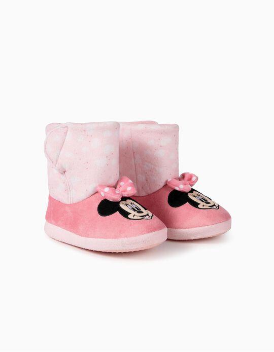 Pantufas para Menina 'Minnie', Rosa