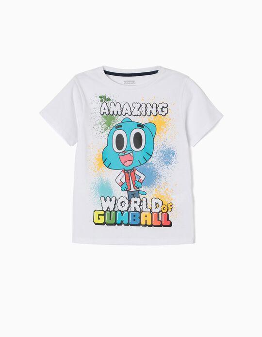 Camiseta Gumball Blanca