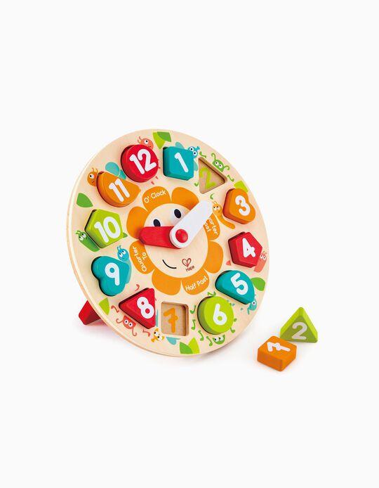 Puzzle Relógio Hape