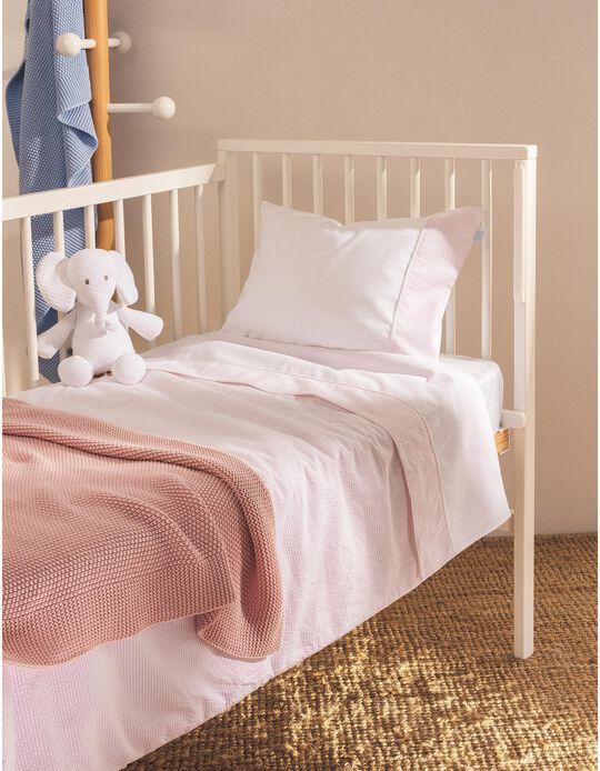 Duvet 120X60Cm Essential Pink Zy Baby