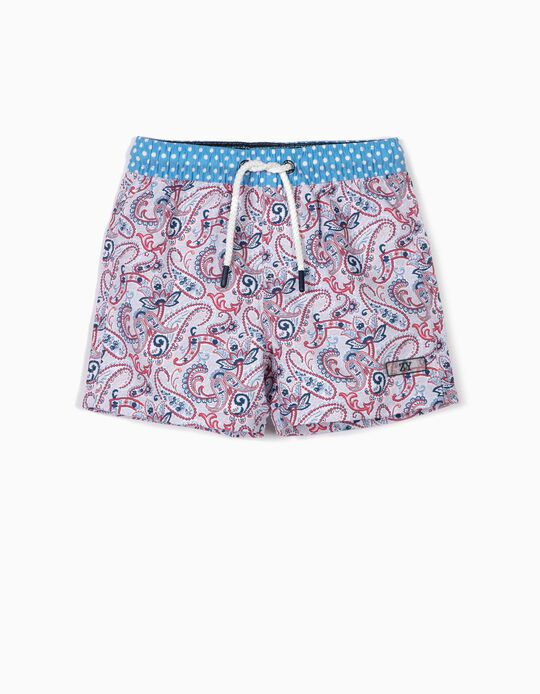 Bañador Short para Bebé Niño 'B&S' Antirrayos UV 80, Multicolor