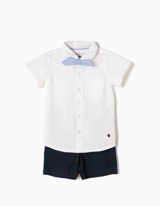 Conjunto de Camisa con Lacito y Short