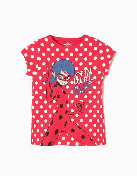 Camiseta Ladybug Lunares