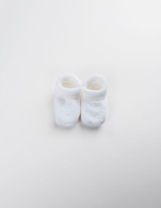 Botas de Malha Brancas