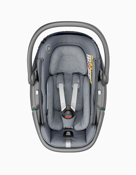 Cadeira Auto I-Size Coral Bébé Confort Essential Grey