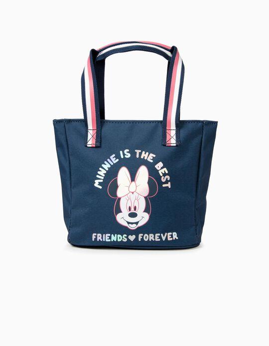 Handbag for Girls 'Minnie is the Best', Dark Blue