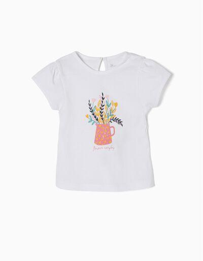 Camiseta Estampada Flowers Everyday