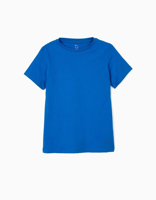 T-shirt para Menino 'ZY', Azul