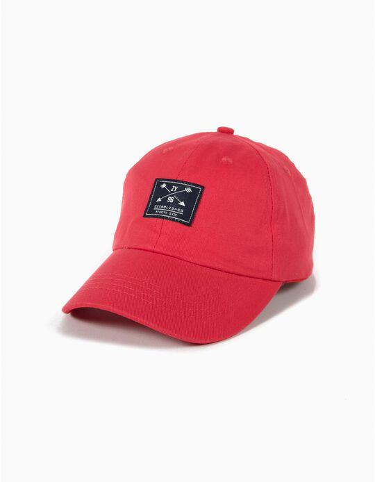 Gorra Béisbol Roja