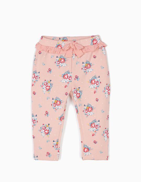 Pantalón de Flores Rosa