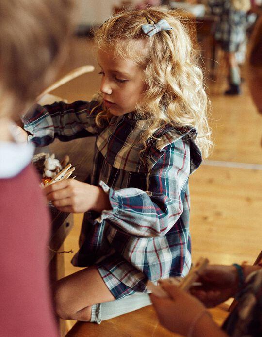 Blusa Xadrez para Menina  'B & S', Multicolor