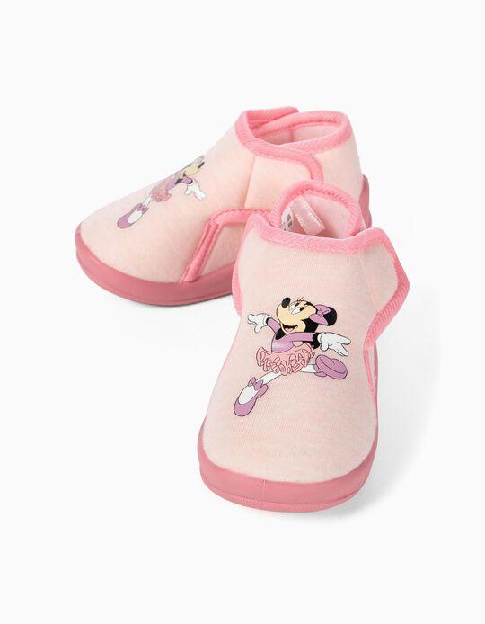 Pantufas para Bebé Menina 'Minnie Ballerina', Rosa