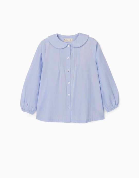 Blouse for Girls, Blue
