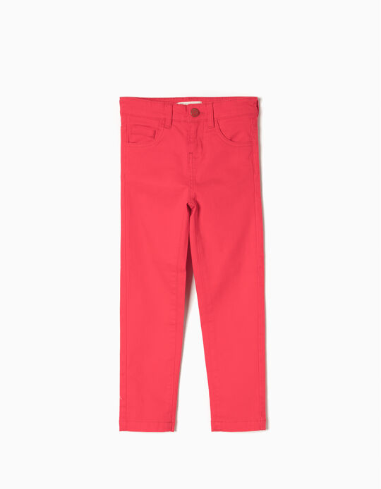 Pantalón Sarga Rojo