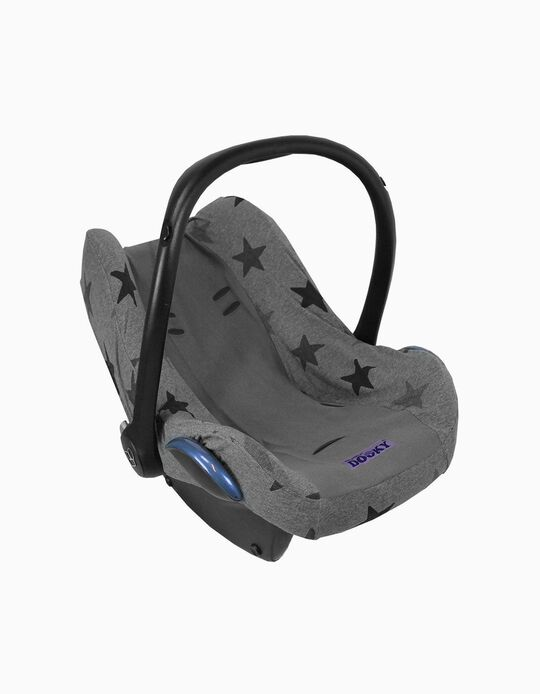 Forra Para Cadeira Auto Gr 0+ Dooky Grey Stars