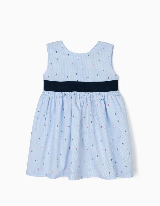 Vestido para Bebé Niña 'Anchors', Azul