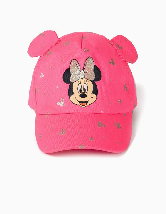 Casquette fille 'Minnie Mouse', rose